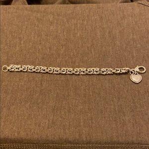 Judith Ripka heart bracelet